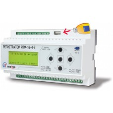 Регистратор электрических процессов РПМ-16-4-3